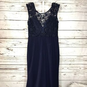Saved by the dress Dresses - Saved by the dress lace trumpet dress size L New!
